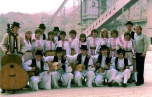 Otvorenje vapnare 1981. godine, tamburaši