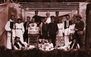 Hrvatsko kulturno društvo Napredak, izvođači jednog igrokaza